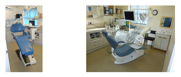 Before and after pictures of dental chairs